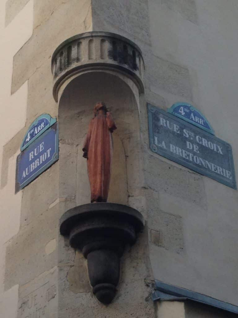 Lady of All Graces in the Jewish Quarter of Paris Le marais