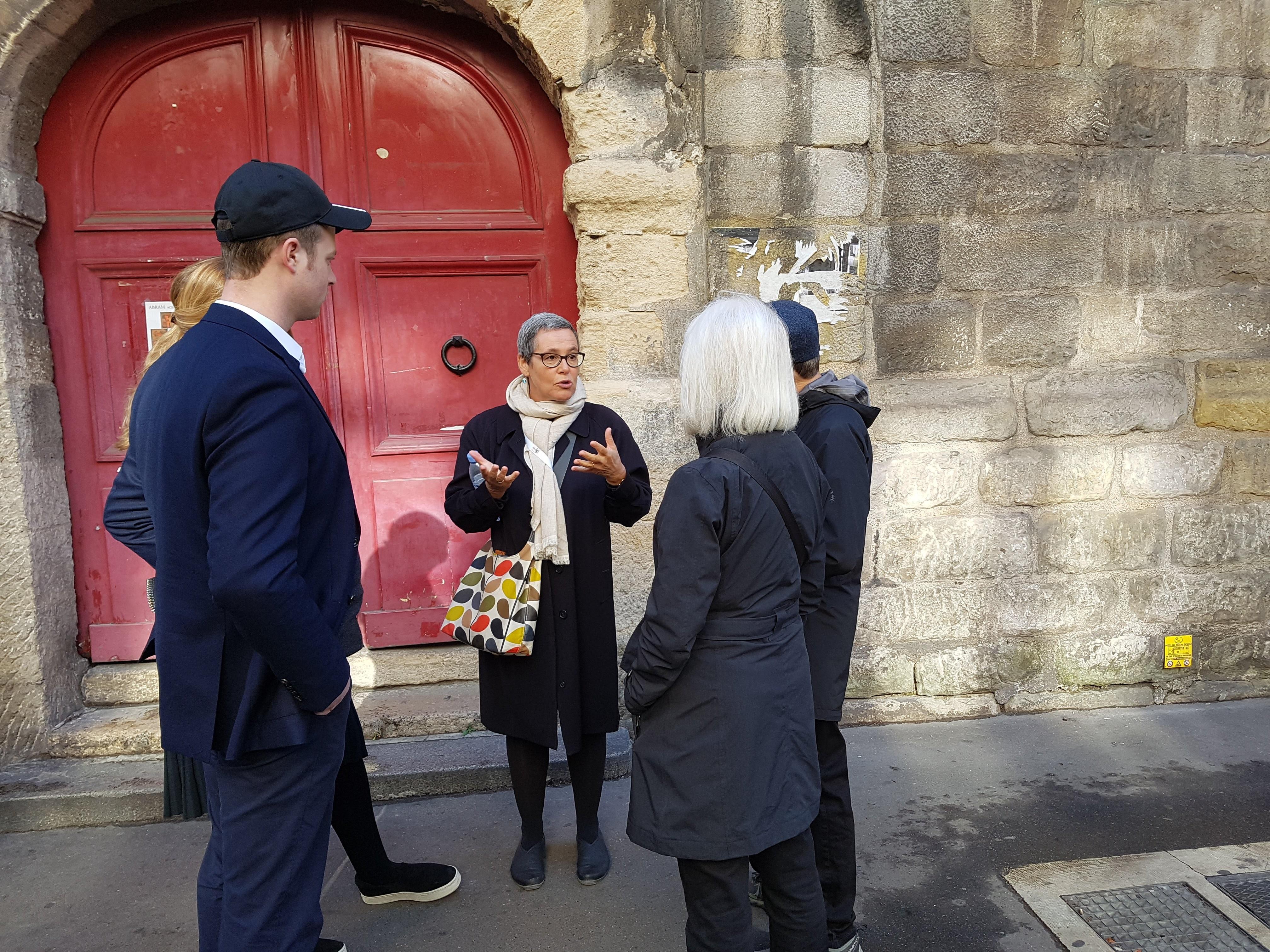 Léontine Cohen - Tour guide for the Jewish Tour in Paris