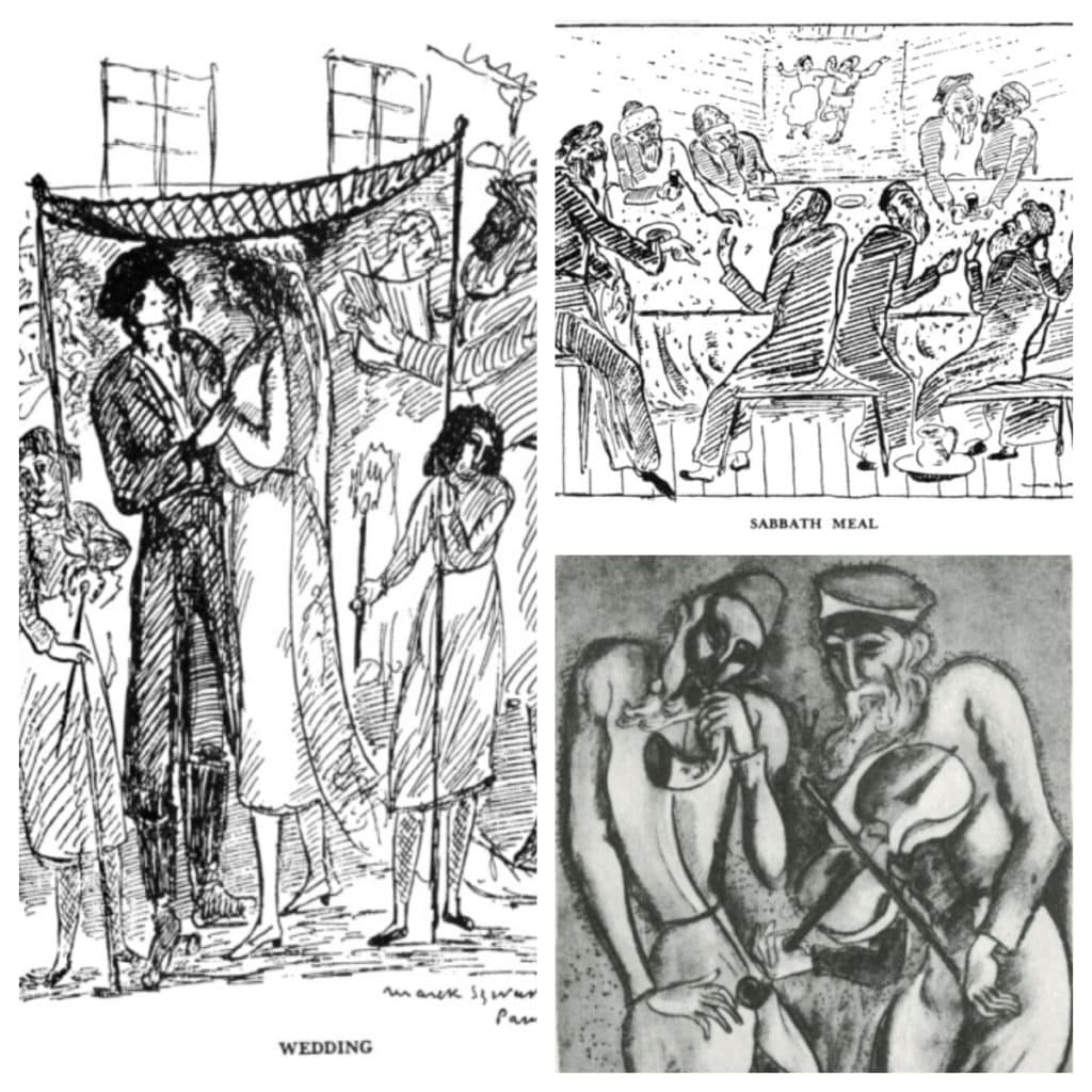 Figure 5 Illustrations from The Golden Mountain