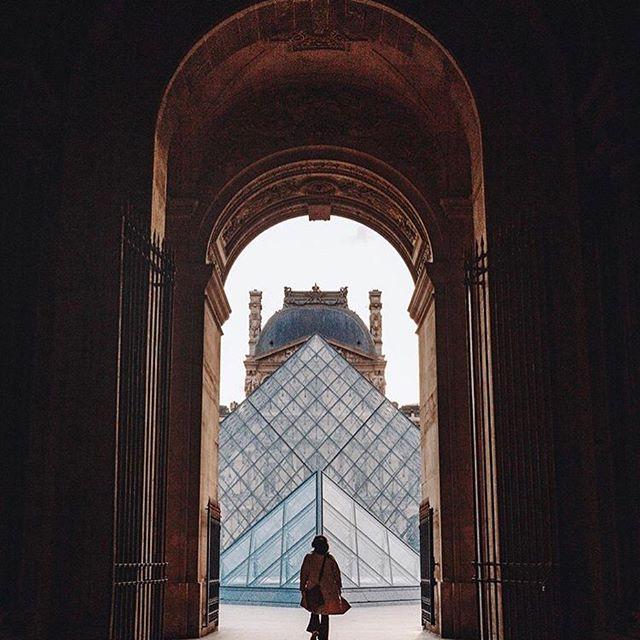 Louvre Pyramid 2020