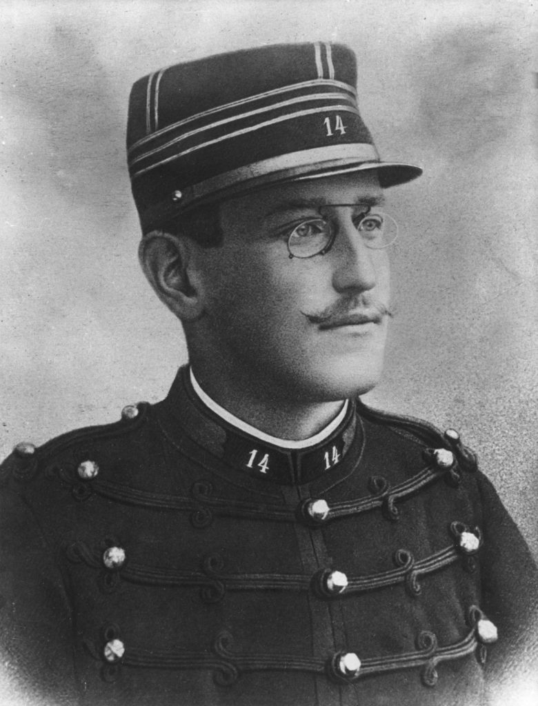 Alfred Dreyfus 1894 - his Affair is a complex miscarriage of justice and antisemitism. The role played by the press and public opinion proved influential in the conflict.