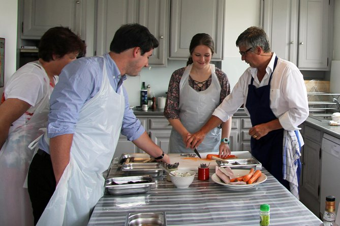 Cooking class with a tour guide