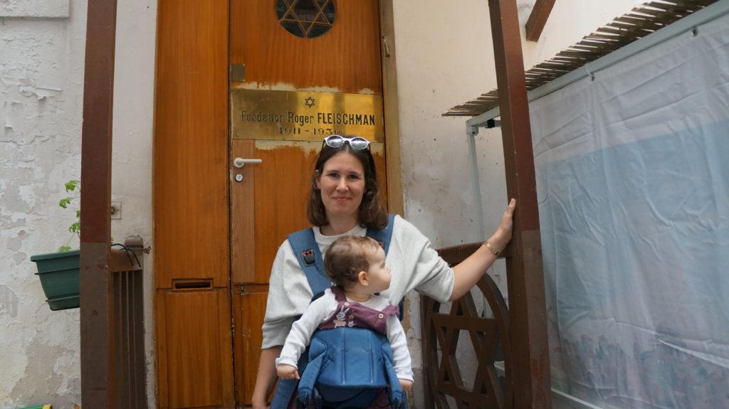 Paris Jewish Tour Guide Synagogue Roger Fleischman