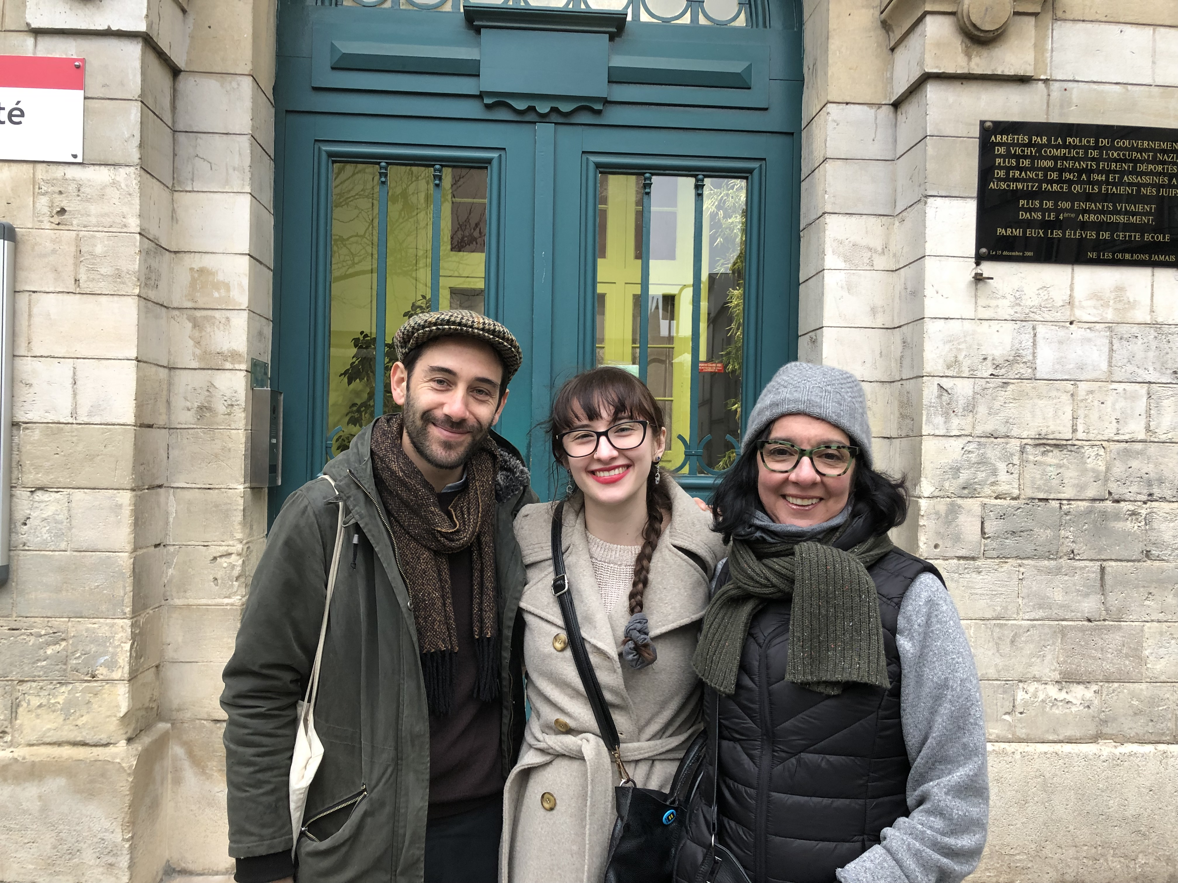 Eden on Jewish tours paris Le Marais-