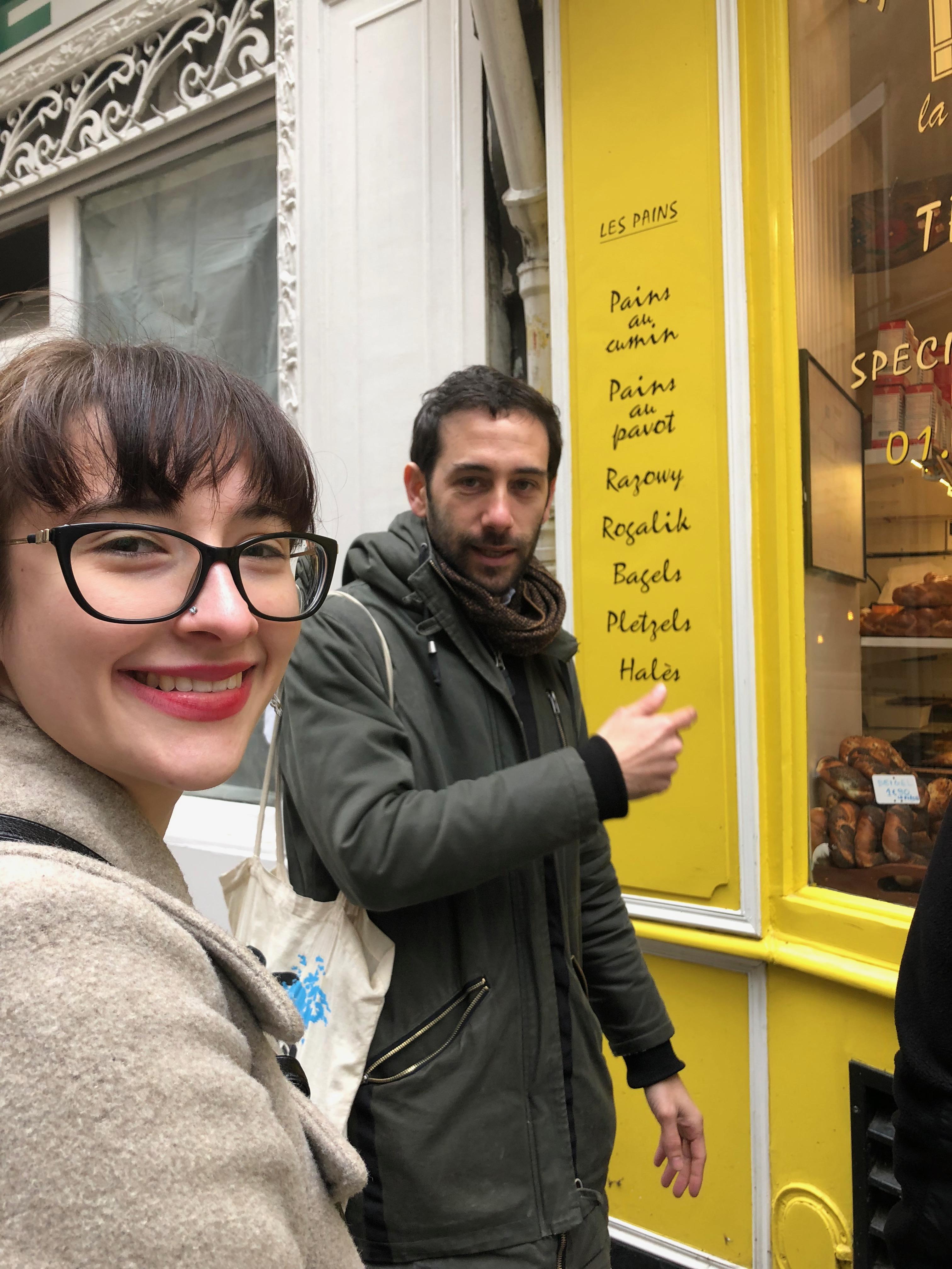 Eden on Jewish tours paris Finkelstein Boutique