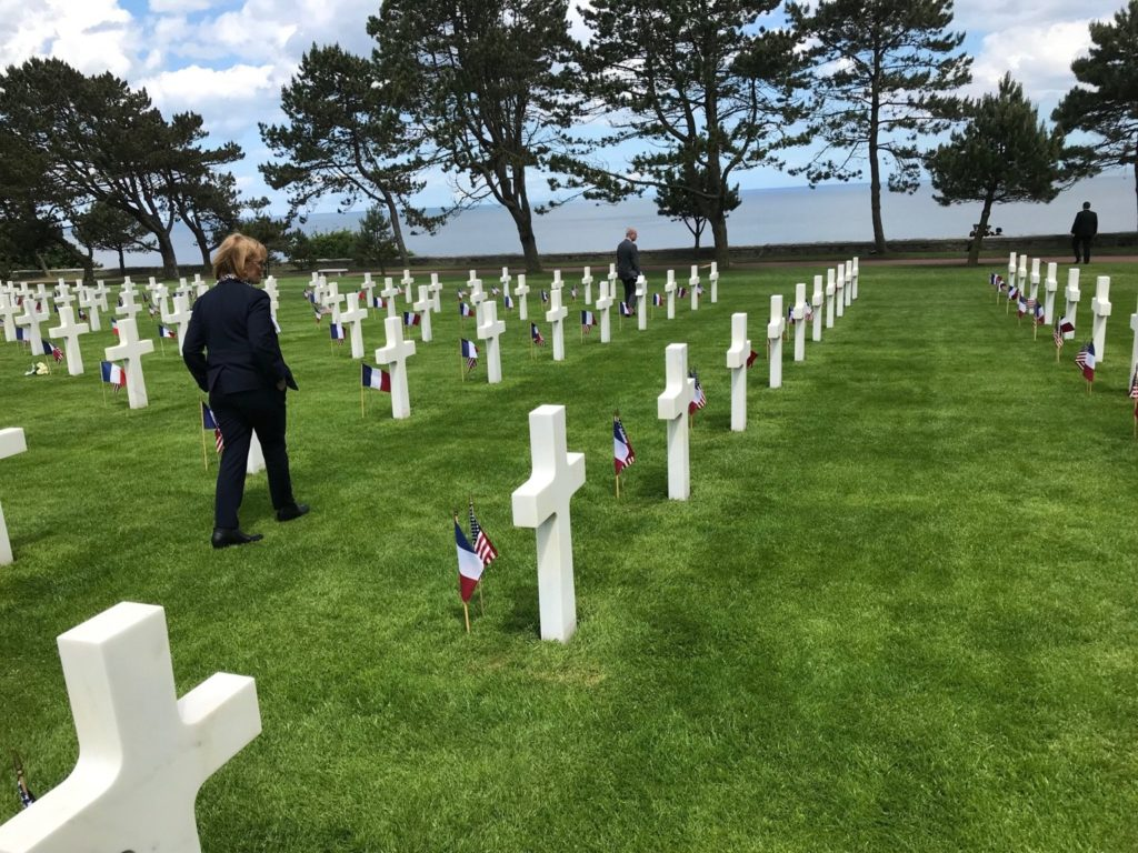 Visit Normandy American Cemetery