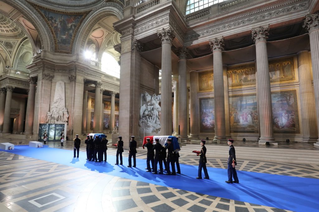 Simone Veil Pantheon Jewish French Activist Honored by the State of France on 2018