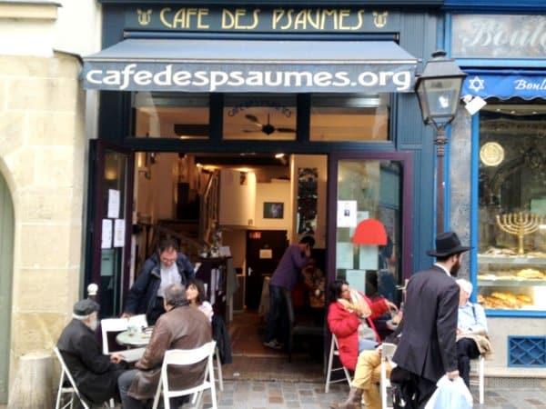 cafe des psaumes jewish paris