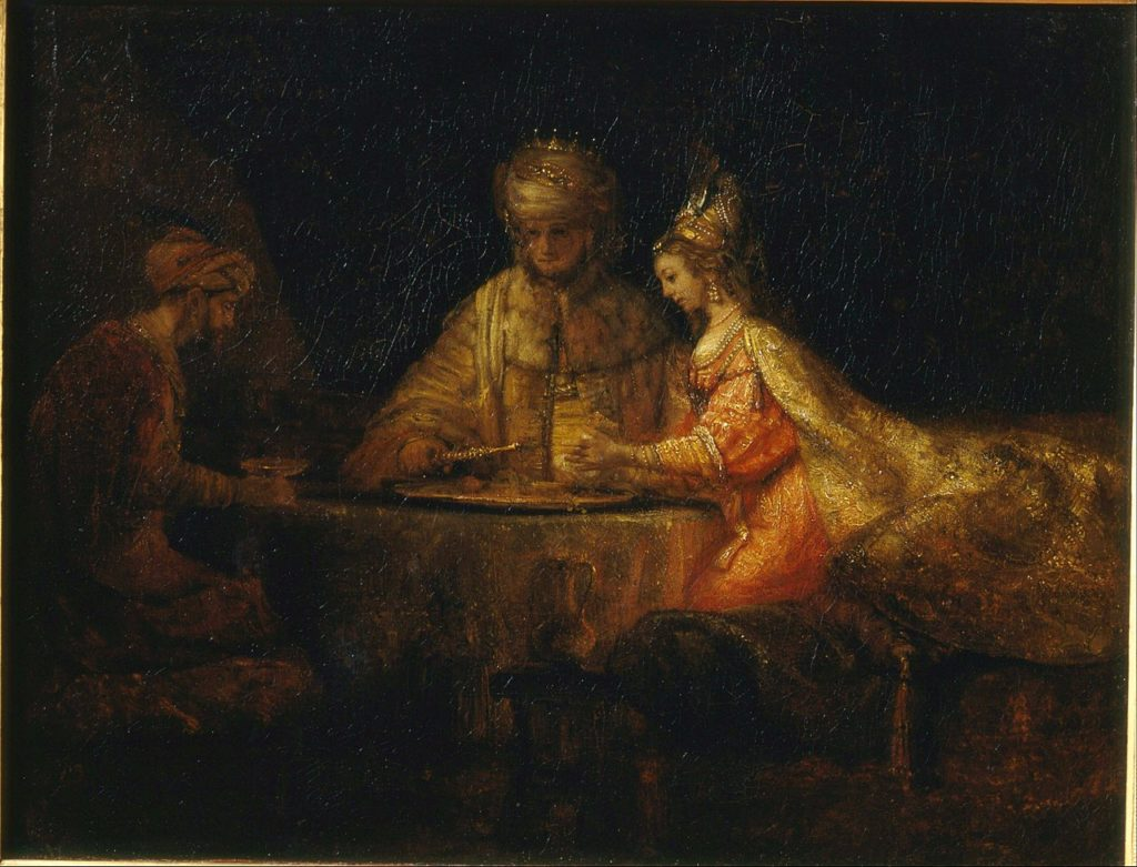 Rembrandt in the Louvre
