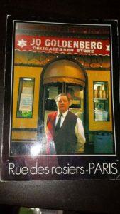 Joe Goldenberg - Rare picture of him in front of the Restaurant Goldenberg
