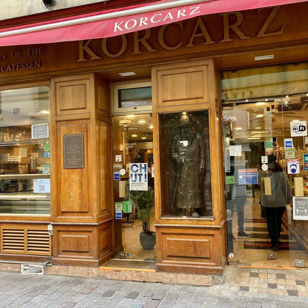 korcarz jewish Paris