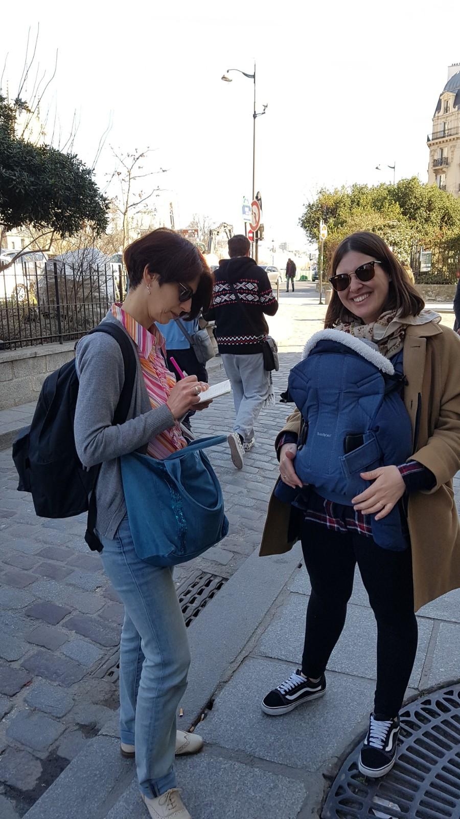 Livia & Flora Goldenberg - Both Jewish Tour guide in Paris