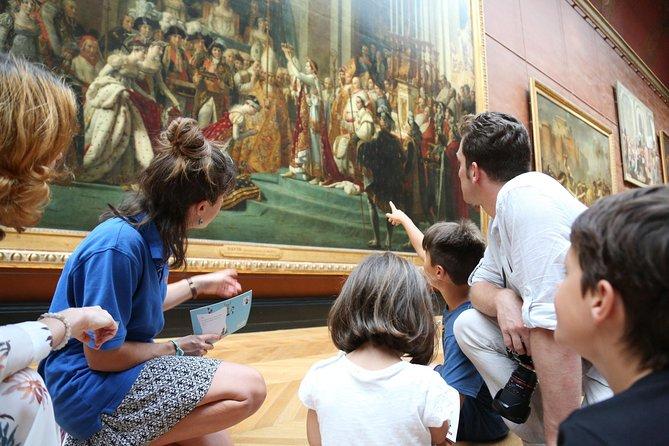 Treasure hunt Tour Louvre