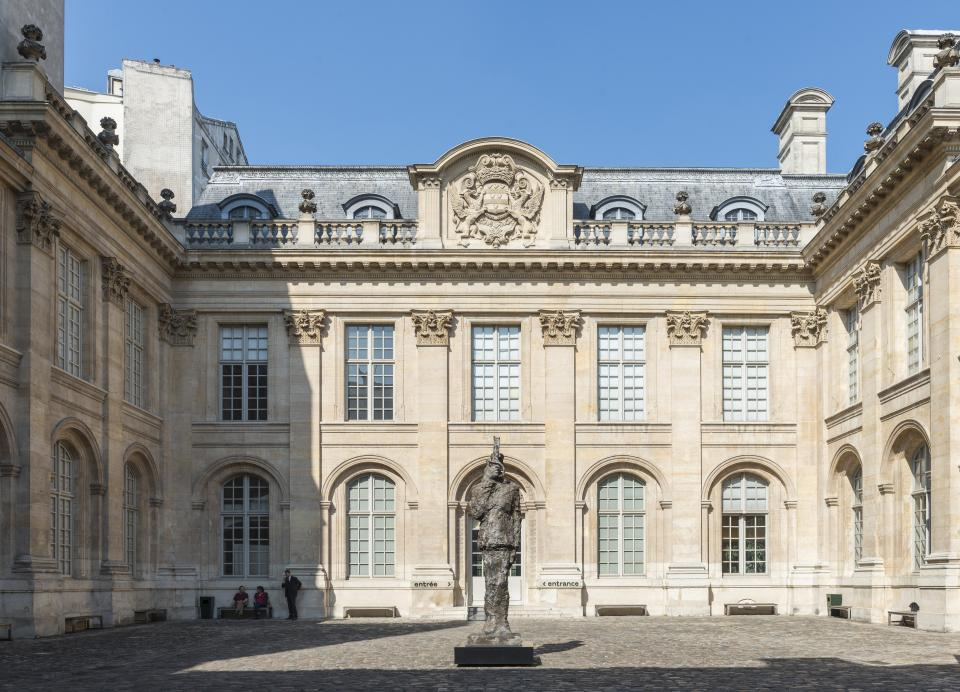 museum of jewish Art and history in Paris hall