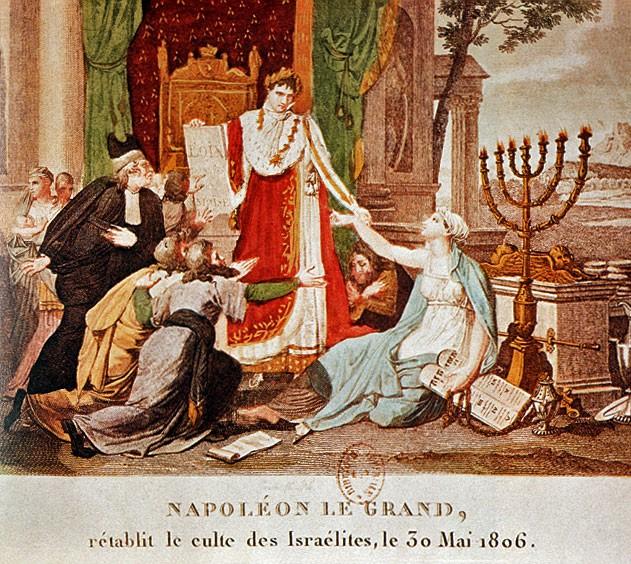 Napoleon Liberating the Jews