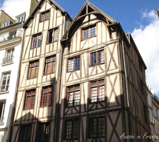 Oldest house in all Paris located in Le marais - Jewish Quarter Paris