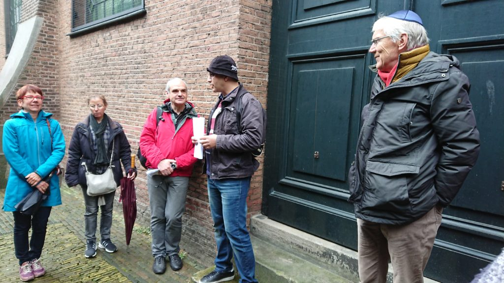 A Jewish tour with my uncle (Pauka Tours) includes the Jewish Cultural Quarter, Anne Frank`s residential neighborhood, Anne Frank House , Contemporary Jewish Buitenveldert ...